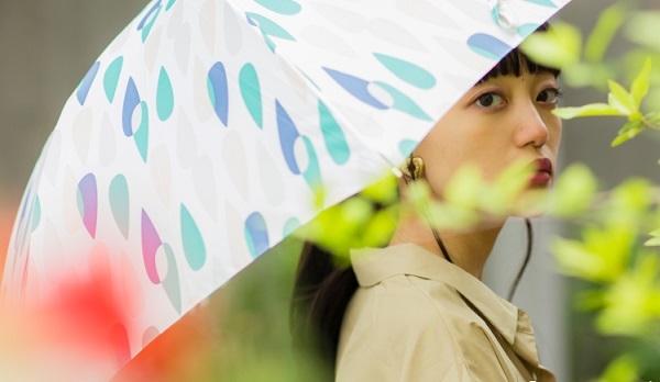 W.P.C高颜值轻便遮阳伞  图片源自天猫旗舰店