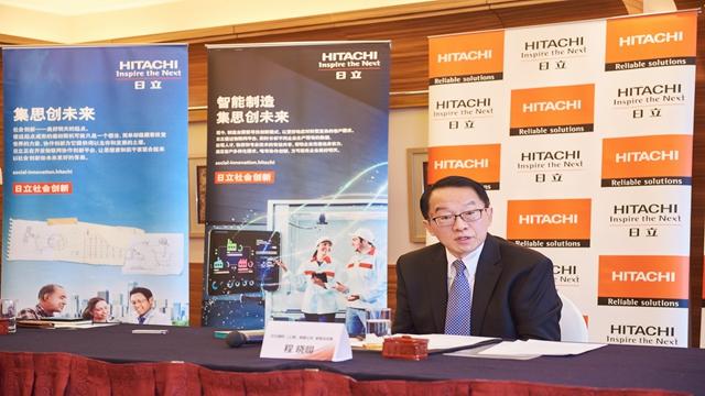 日立建机(上海)有限公司董事总经理程晓明