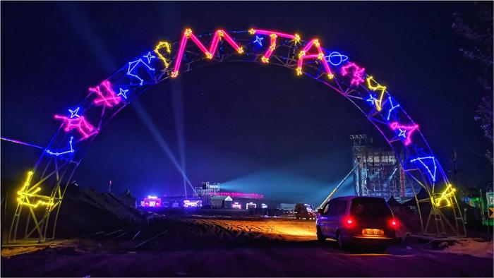 MTA天漠音乐节像美国西南偏南音乐节的迷你版。 图片来源:MTA天漠音乐节