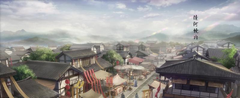 《魔道祖师》中的古典场景设计